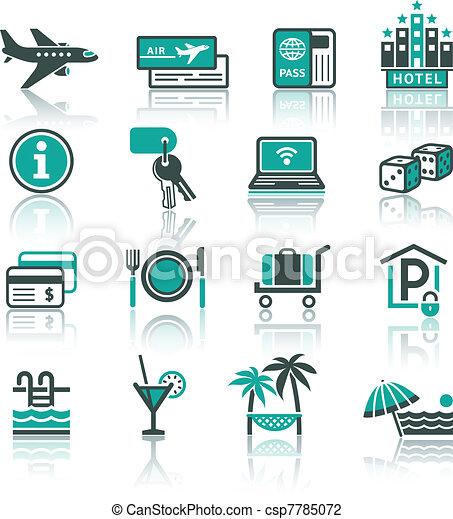 Recreation, Travel & Vacation, set - csp7785072