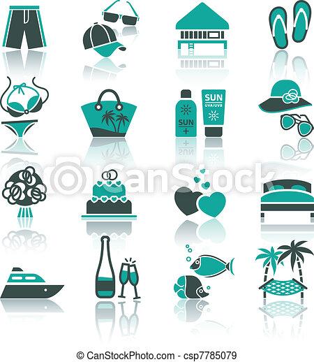 Vacation, Travel & Recreation, set - csp7785079