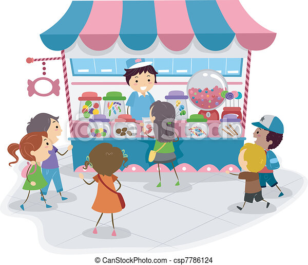 Candy Store - csp7786124