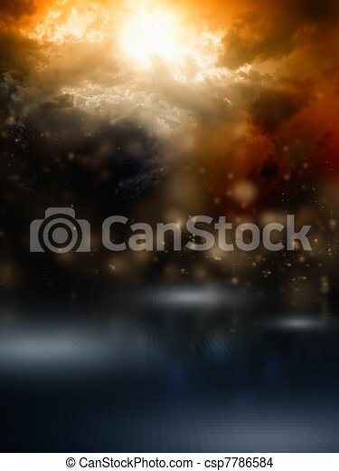 Dark sky - csp7786584