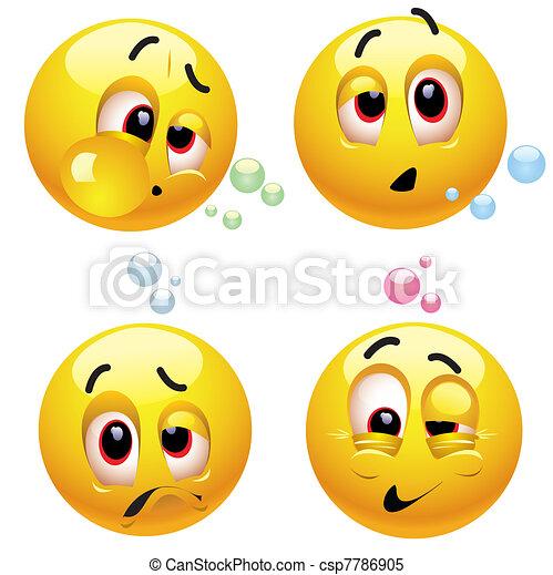 Smileys - csp7786905