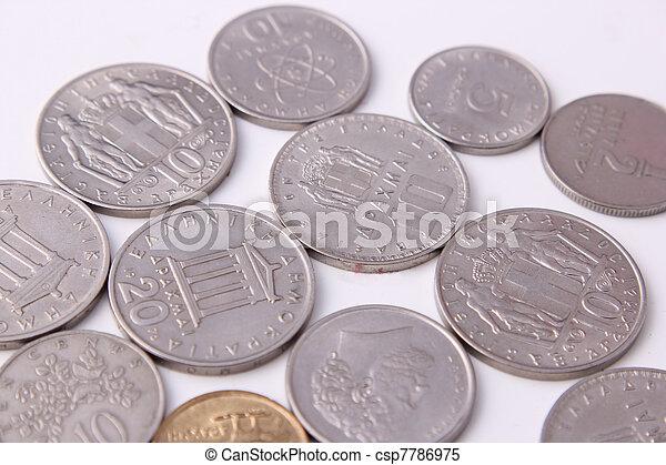 Greece coins - csp7786975