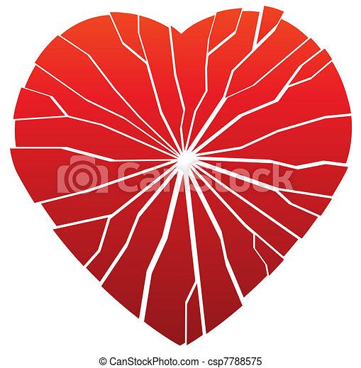 broken heart - csp7788575