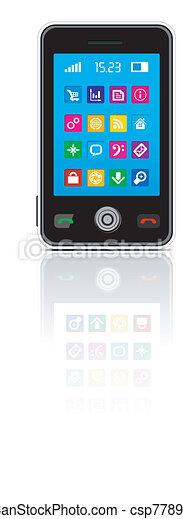Touchscreen smartphone - csp7789174