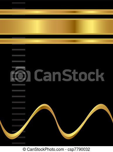 Professional and Elegant Style Vector Background - csp7790032
