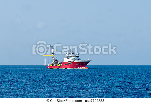 Dynamically positioned vessel - csp7792338