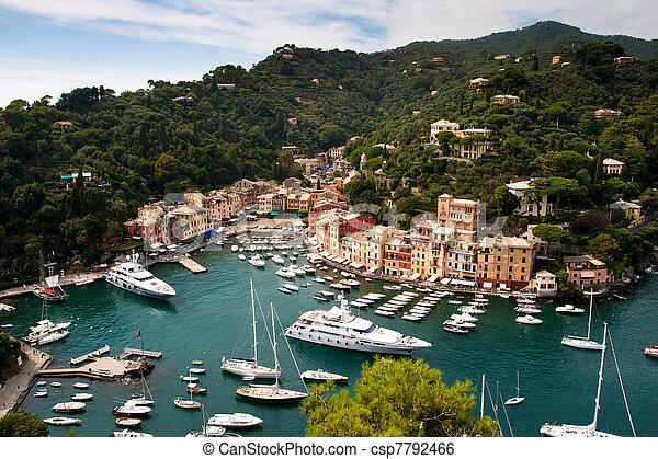 Portofino, Italian Riviera, Liguria, Italy  - csp7792466