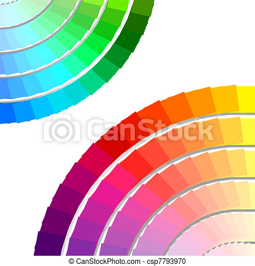 color spectrum palette - csp7793970