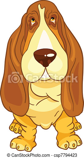 Cartoon Character Dog - csp7794423