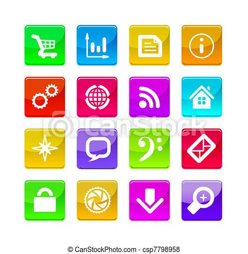 application icons - csp7798958
