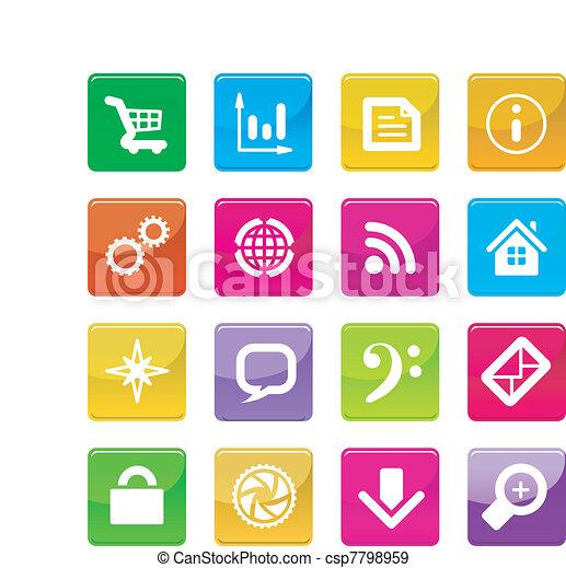 application icons - csp7798959