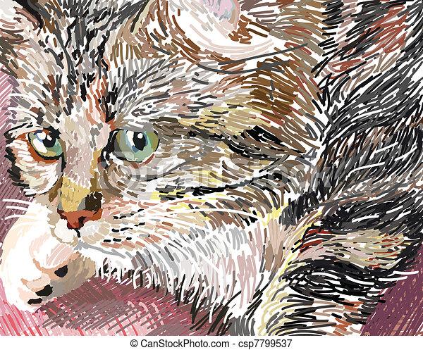 Sweet pussycat - csp7799537