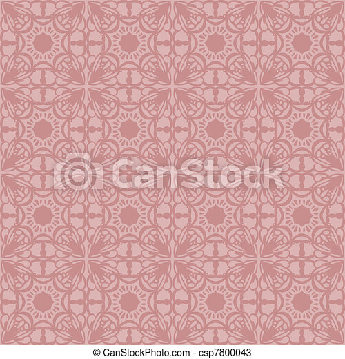 Gentle elegant seamless pattern  - csp7800043