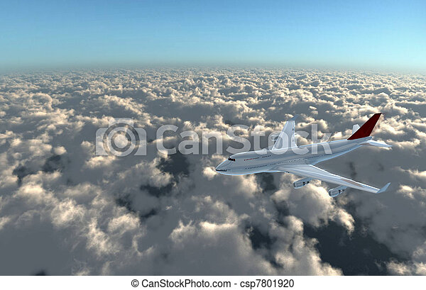 airplane forward to cam - csp7801920