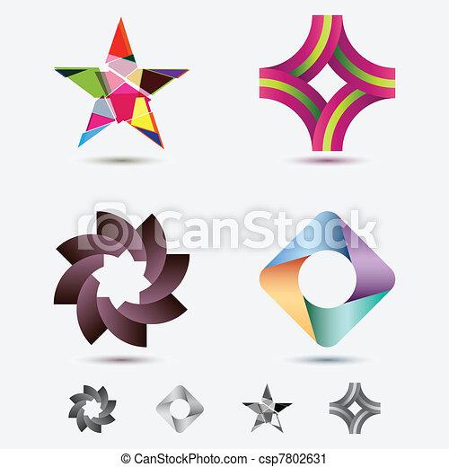 Modern Icons - csp7802631