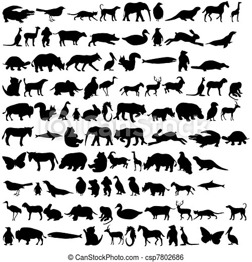 Animals icon 2 - csp7802686