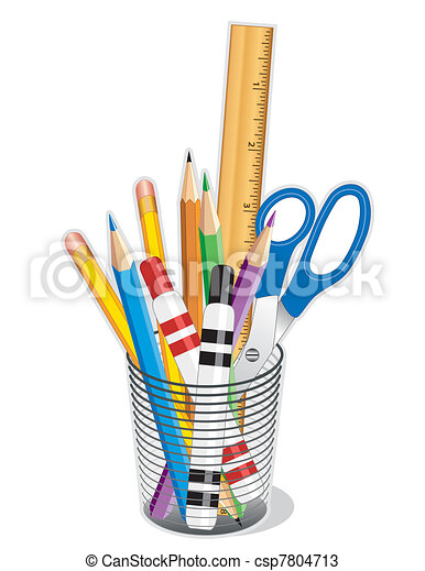 Supplies for Home, Office, School - csp7804713