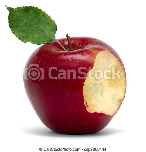 apple with bite - csp7806444