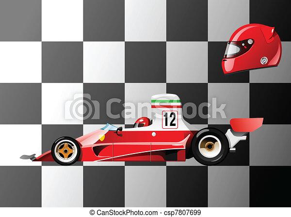 racing car - csp7807699