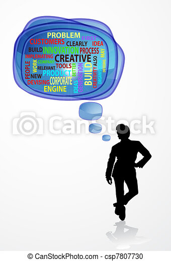 Concept of innovation and creative - csp7807730