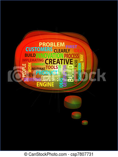 Concept of innovation and creative - csp7807731