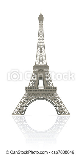 Eiffel tower - csp7808646