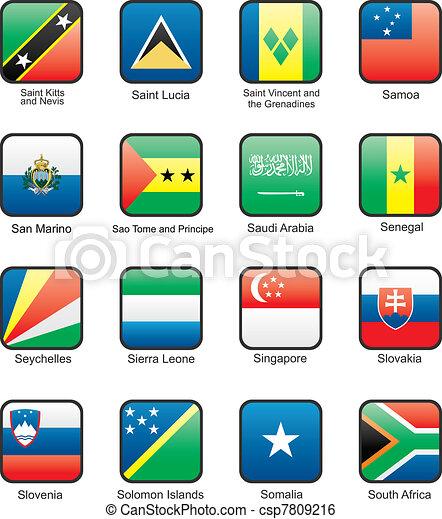 Flag icon set (part 10) - csp7809216