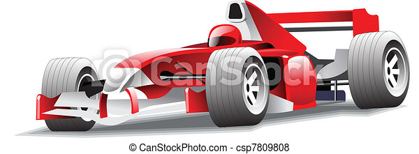 Icon of motor-car - csp7809808