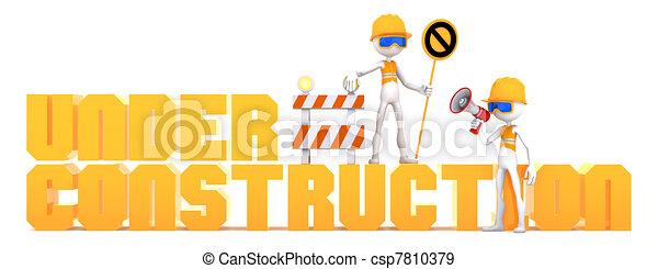 Under Construction - csp7810379