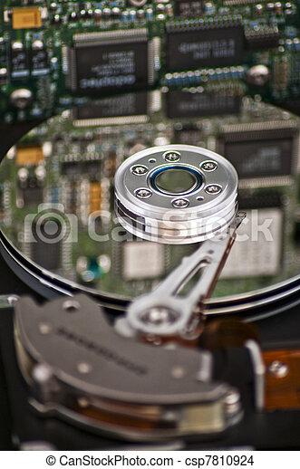 Computer hard drive - csp7810924