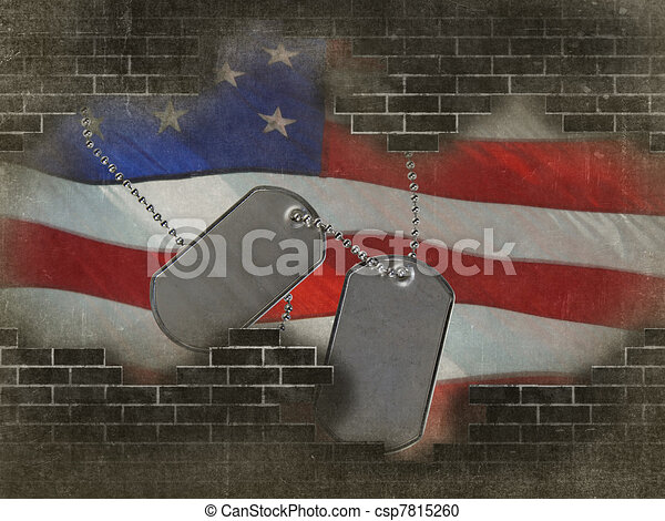 Drawings of military dog tags on Christmas tree - Bows and dog ...