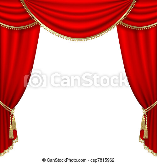 Theater stage. Mesh.  - csp7815962