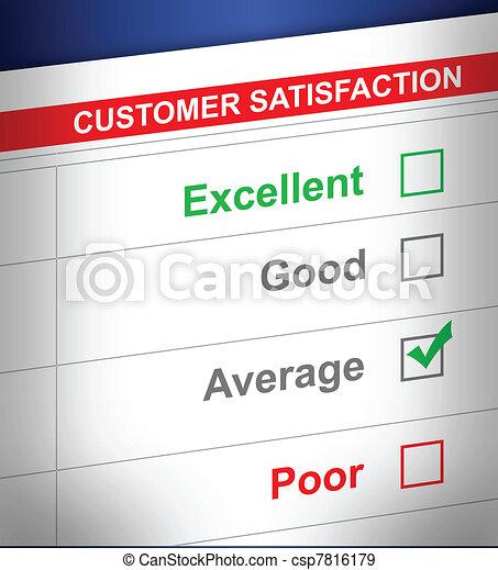 customer service survey - csp7816179