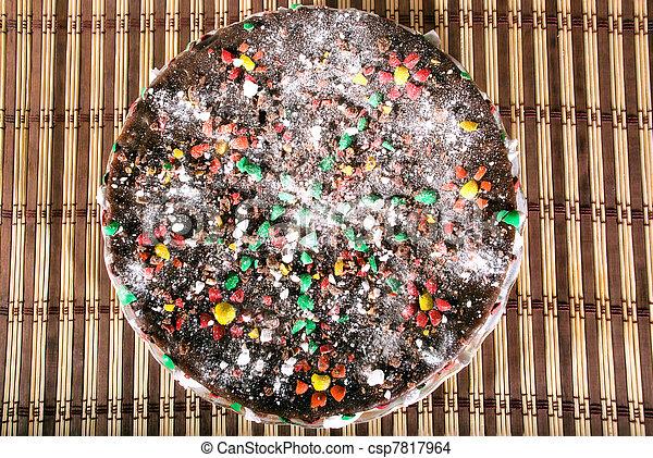 bolo, biscoito,  chocolate - csp7817964