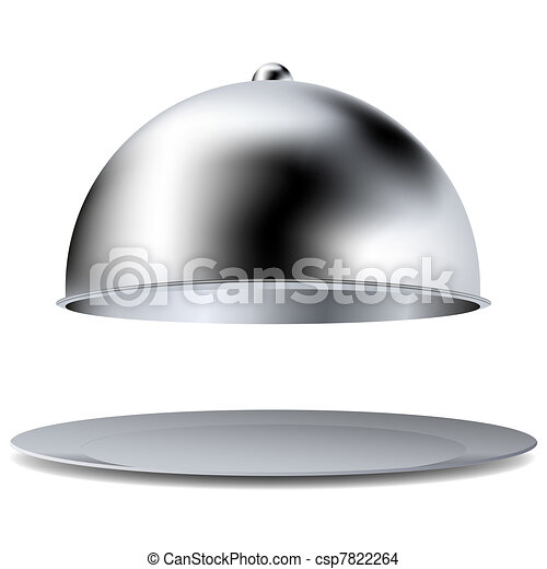 Vector tray isolated on white. Best choice - csp7822264