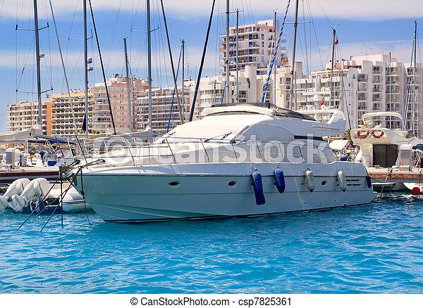 Ibiza San Antonio de Portmany marina - csp7825361
