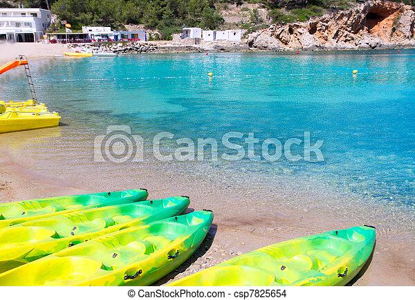 Ibiza Port de San Miquel San Miguel beach - csp7825654