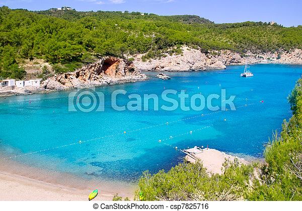 Ibiza Port de San Miquel San Miguel beach - csp7825716