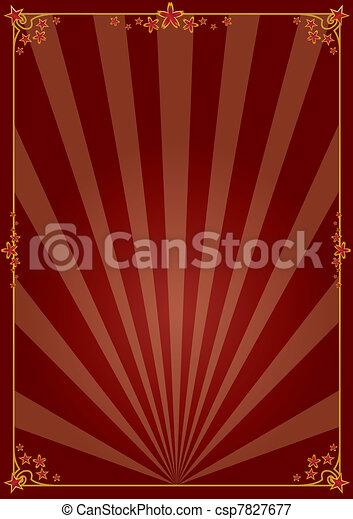 Decorative poster - csp7827677
