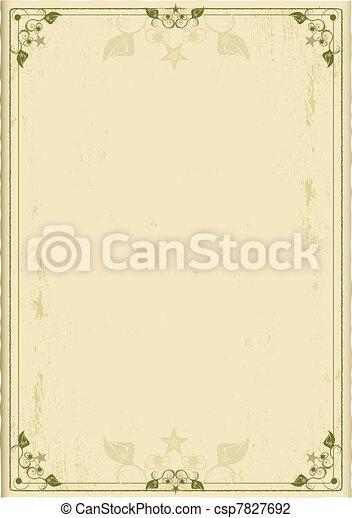 Old background - csp7827692