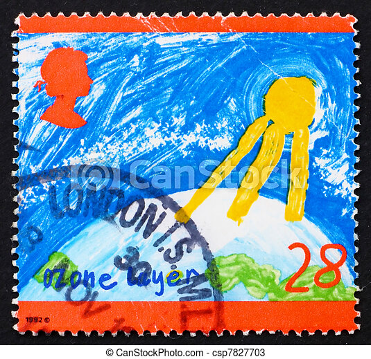 stock photos of postage stamp gb 1992 ozone layer great north pole postage stamp clipart christmas postage stamp clip art