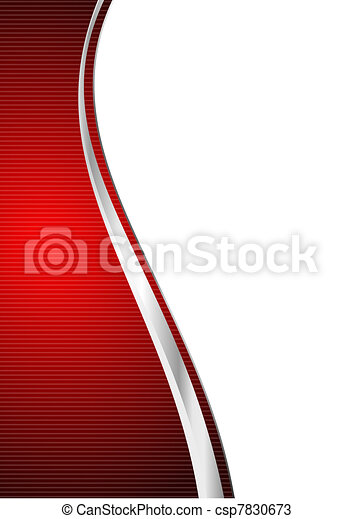 red abstract background - csp7830673