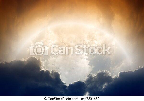 Mysterious sky - csp7831460