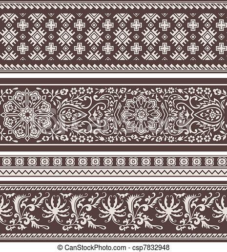fashion floral pattern - csp7832948