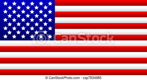 USA Flag - csp7834985