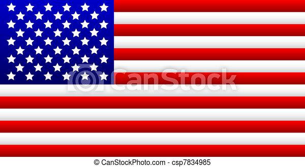 USA Flag - csp7834985