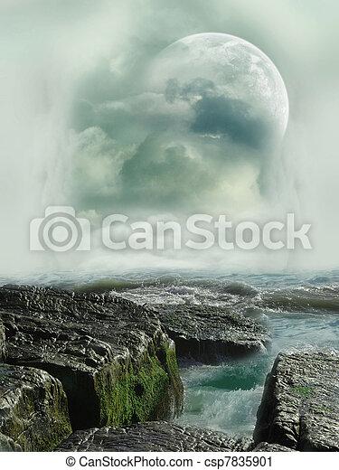 Fantasy landscape - csp7835901