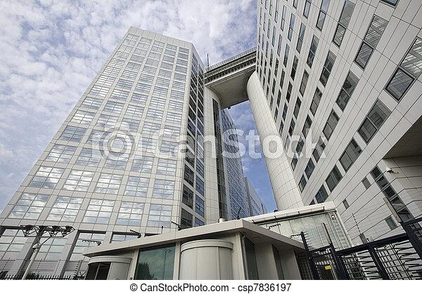 International Criminal Court in The Hague - csp7836197