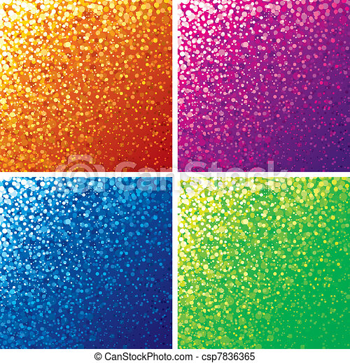 Bright Colored Background - csp7836365