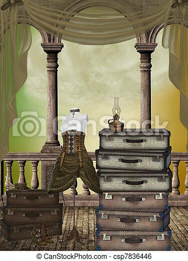 Fantasy room - csp7836446